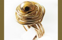 טבעת שמש גולדפילד IRIS ZAHAV